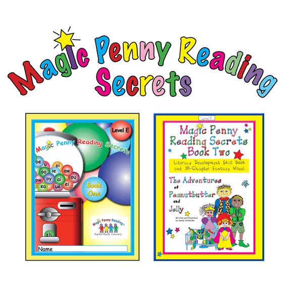 Magic Penny Reading Secrets Books