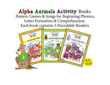 Individual Alpha Animals Books