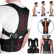 Magnetic Therapy Posture Corrector - Fully Adjustable Back Brace