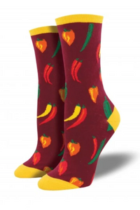 Ladies A Little Chili Socks