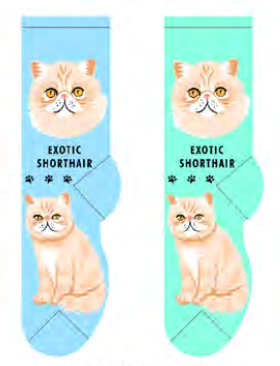 Unisex Exotic Shorthair Socks