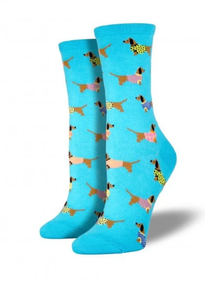Ladies Haute Dog Socks