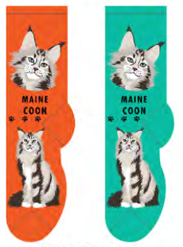 Unisex Maine Coon Socks