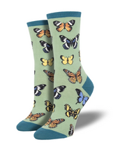 Ladies Majestic Butterflies Socks