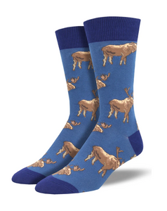 Moose On The Loose Socks