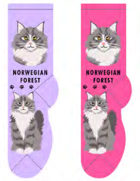 Unisex Norwegian Forest Socks