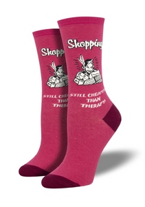 Ladies Retail Therapy Socks