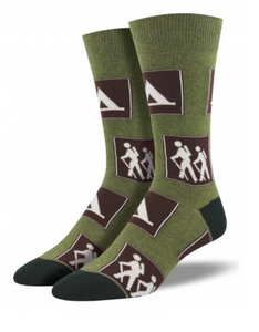 Signs Of The Trail Socks