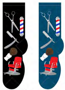 Men's Barber Shop Socks
