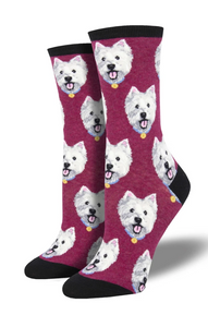 Ladies Westies Socks