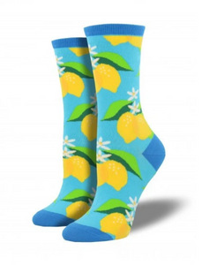 Ladies When Life Gives You Lemons Socks