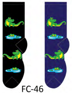 Ladies Alligator Socks