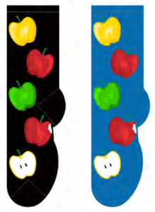 Ladies Apples Socks