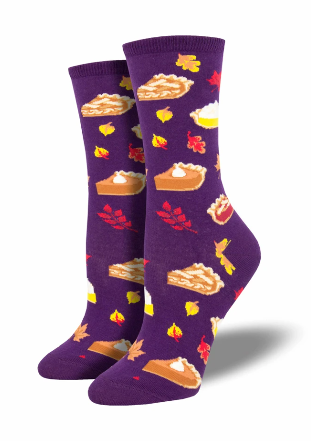 Ladies Autumn Pies Socks