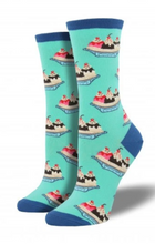 Ladies Banana Split Socks