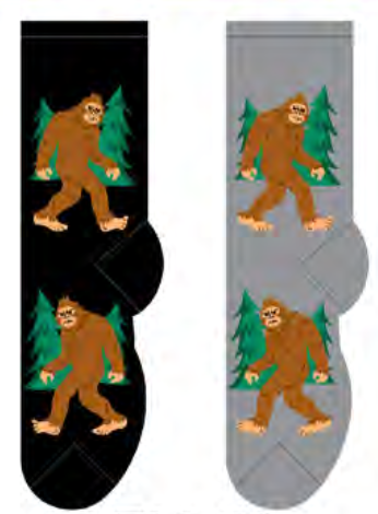 Men's Big Foot Socks