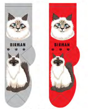 Unisex Birman Socks