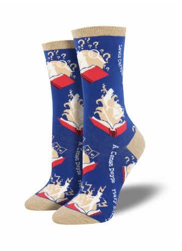 Ladies Book Your Adventure Socks