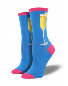Ladies Bottomless Mimosa Socks