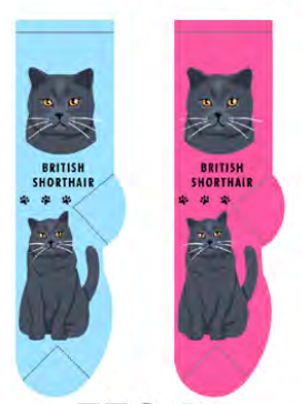 Unisex British Shorthair Socks