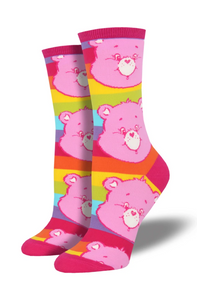 Ladies Care Bears Cheer Socks