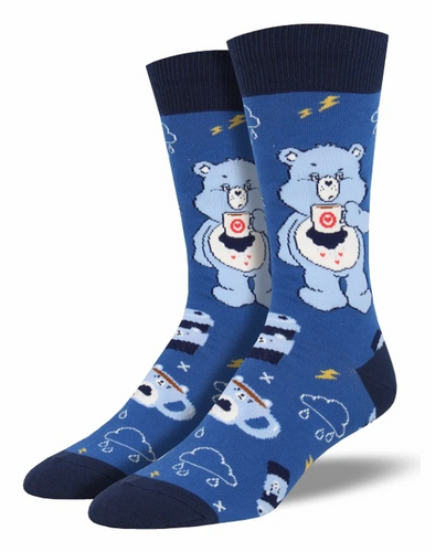 Care Bear - More Coffee, Less Grumpy Socks