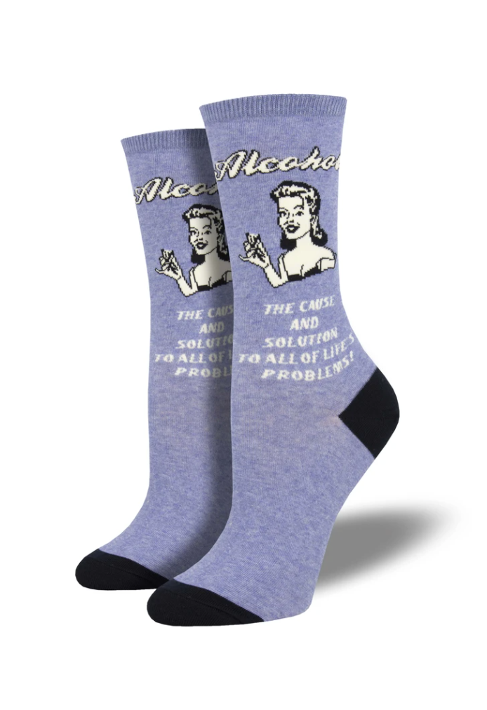 Ladies Cause And Solution Socks
