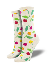 Ladies Cherries Socks
