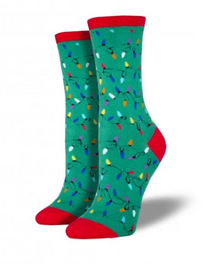Ladies Christmas Light Socks