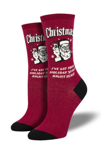 Ladies Christmas Spirit Socks