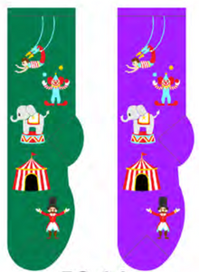 Ladies Circus Socks