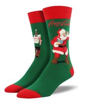 Coca-Cola - Santa Claus Socks