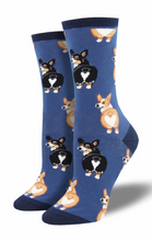 Ladies Corgi Butt Socks