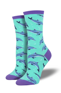 Ladies Dolphinitely Socks