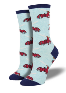 Ladies Feeling Crabby Socks