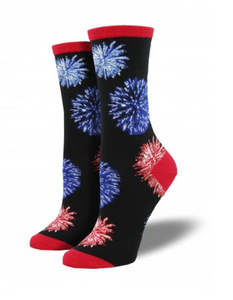 Ladies Fireworks Socks