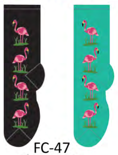 Ladies Flamingos Socks
