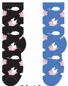 Ladies Flying Pigs Socks