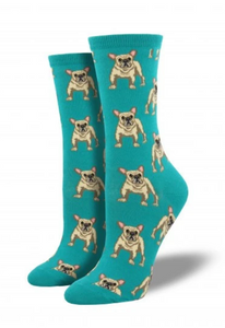 Ladies Frenchie Socks