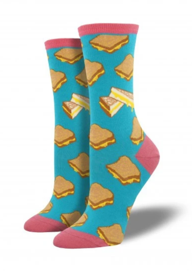 Ladies Grilled Cheese Socks