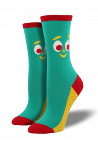 Ladies Gumby Socks