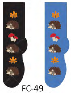 Ladies Hedgehog Socks