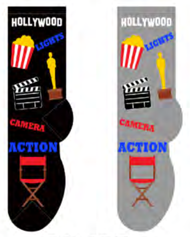 Ladies Hollywood Socks