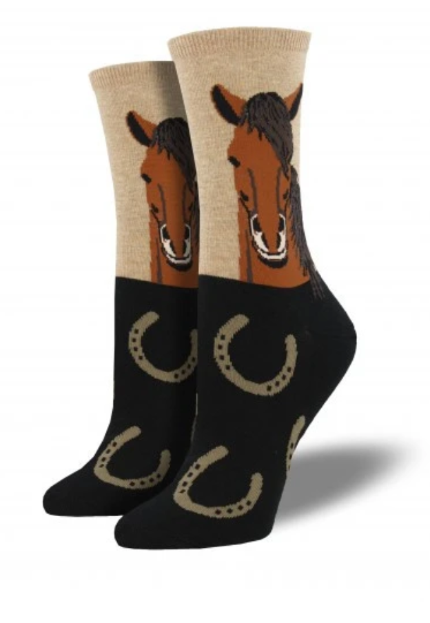 Ladies Horse Socks