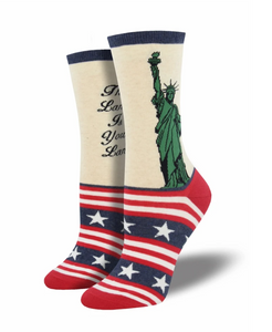 Ladies Lady Liberty Socks