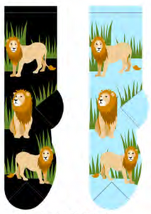 Ladies Lion Socks