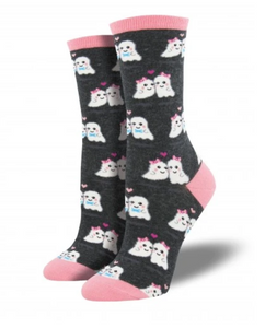 Ladies Love You Boo Socks