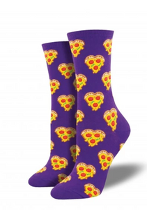 Ladies Love You To Pizzas Socks