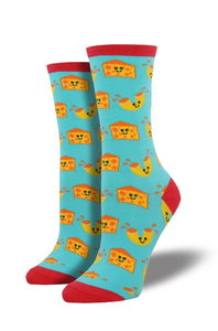 Ladies Mac 'N Cheese Socks