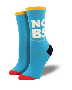 Ladies No BS Socks